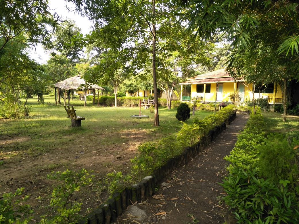 kanha-resort-garden